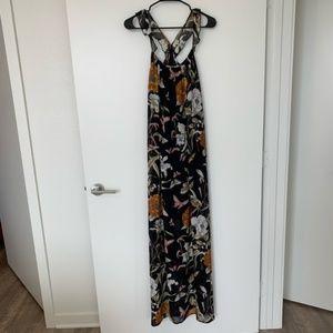 Nasty Gal Elenza Boho Floral Racerback Maxi Dress